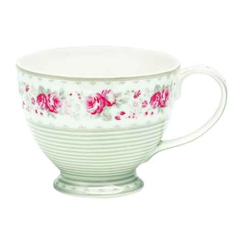 Didelis puodelis su ąsele