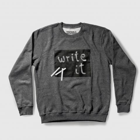 Kreida rašomas džemperis