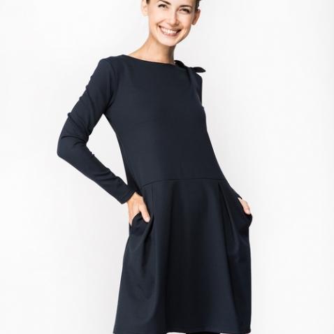 LE MUSE Sofia Bow suknelė