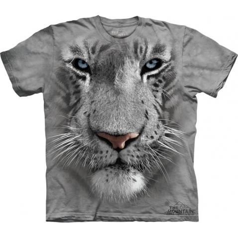 THE MOUNTAIN Marškinėliai White Tiger