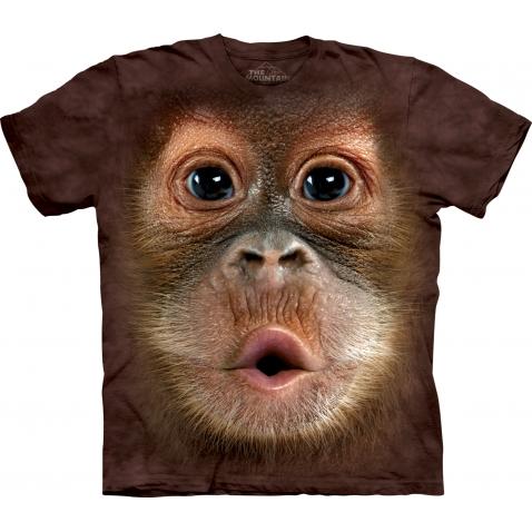 Vaikiški Marškinėliai Orangutanas