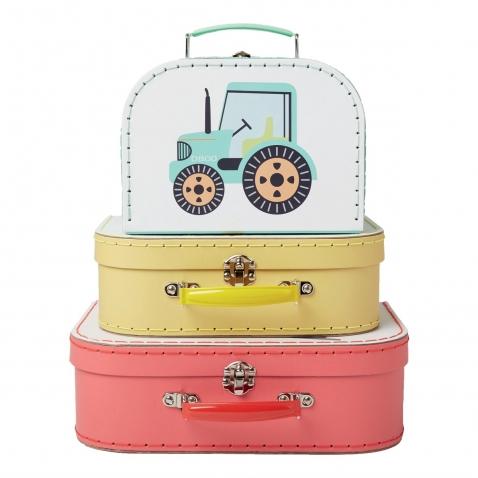 Dėžutės - lagaminėliai 3vnt.
