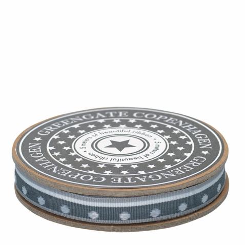 Pilka juostelė dekoravimui Lotte Grey