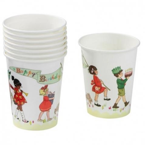 Vienkartiniai puodeliai 8vnt.