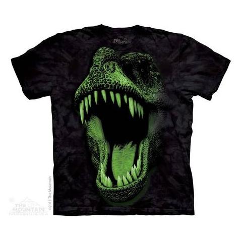 THE MOUNTAIN Glow Rex Dinosaurs t-shirt