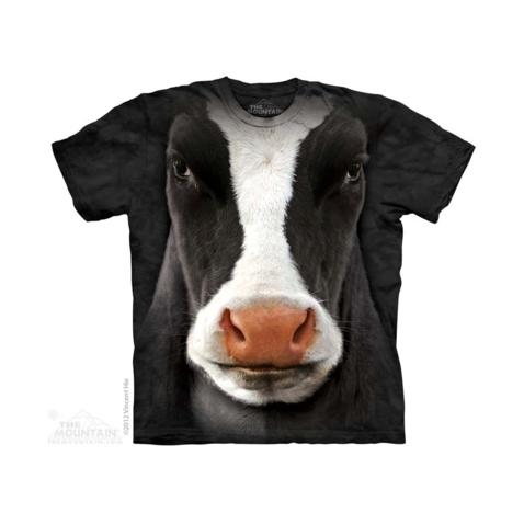 THE MOUNTAIN Marškinėliai Cow