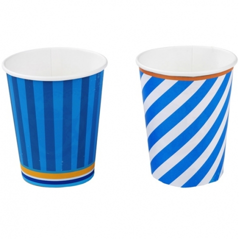 Blue Party Cups, 8pcs.