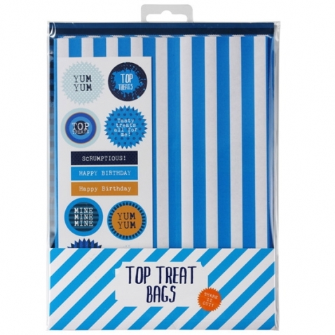 Blue Treat Bags