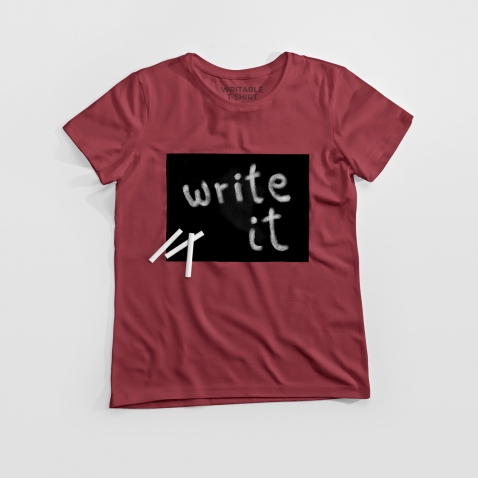 Cotton Twitter marškinėliai Raspberry
